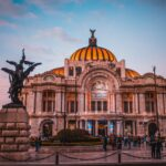 Palacio de Bellas Artes in Centro Mexico City