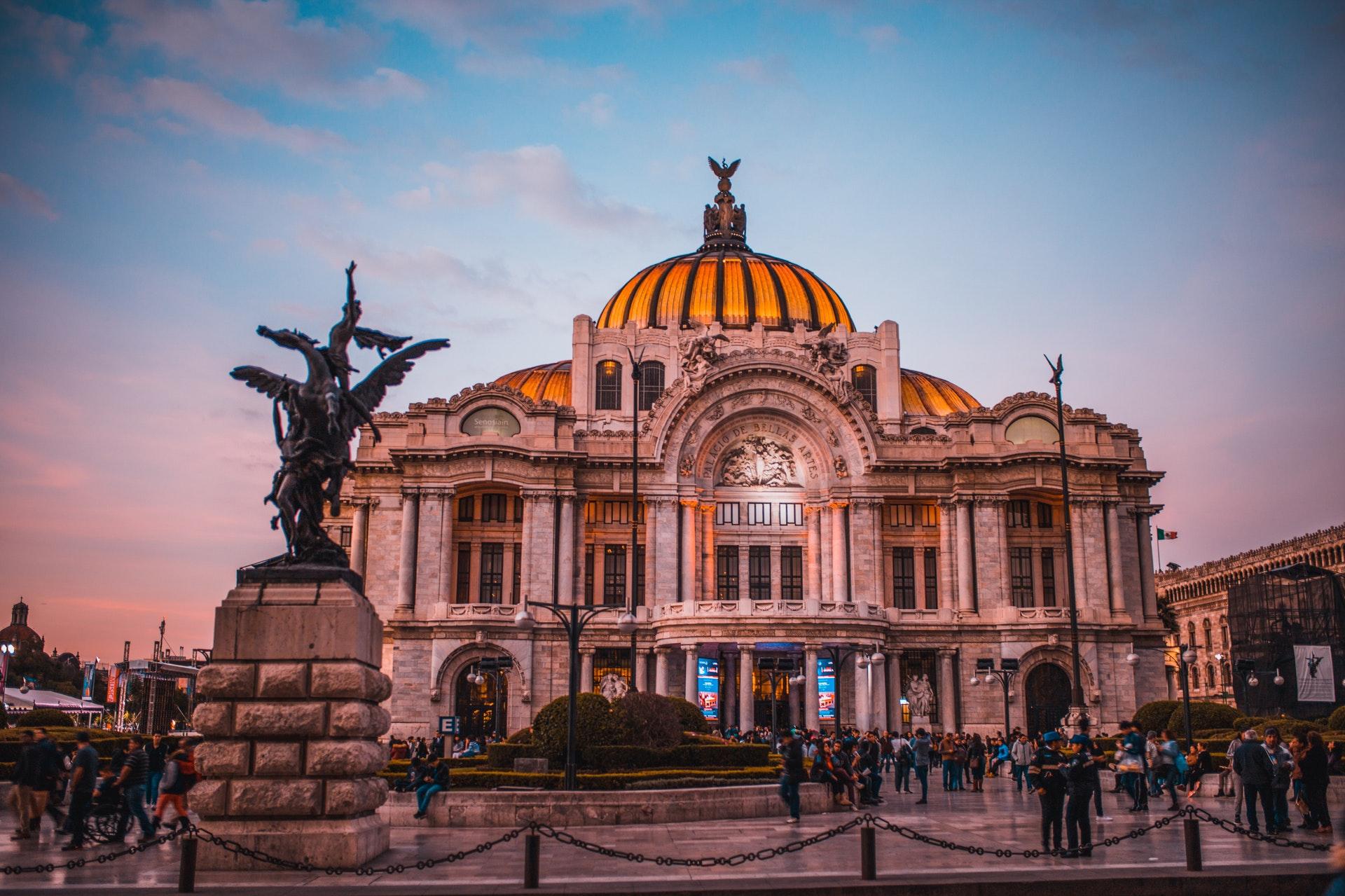 Palacio de Bellas Artes in Centro Mexico City